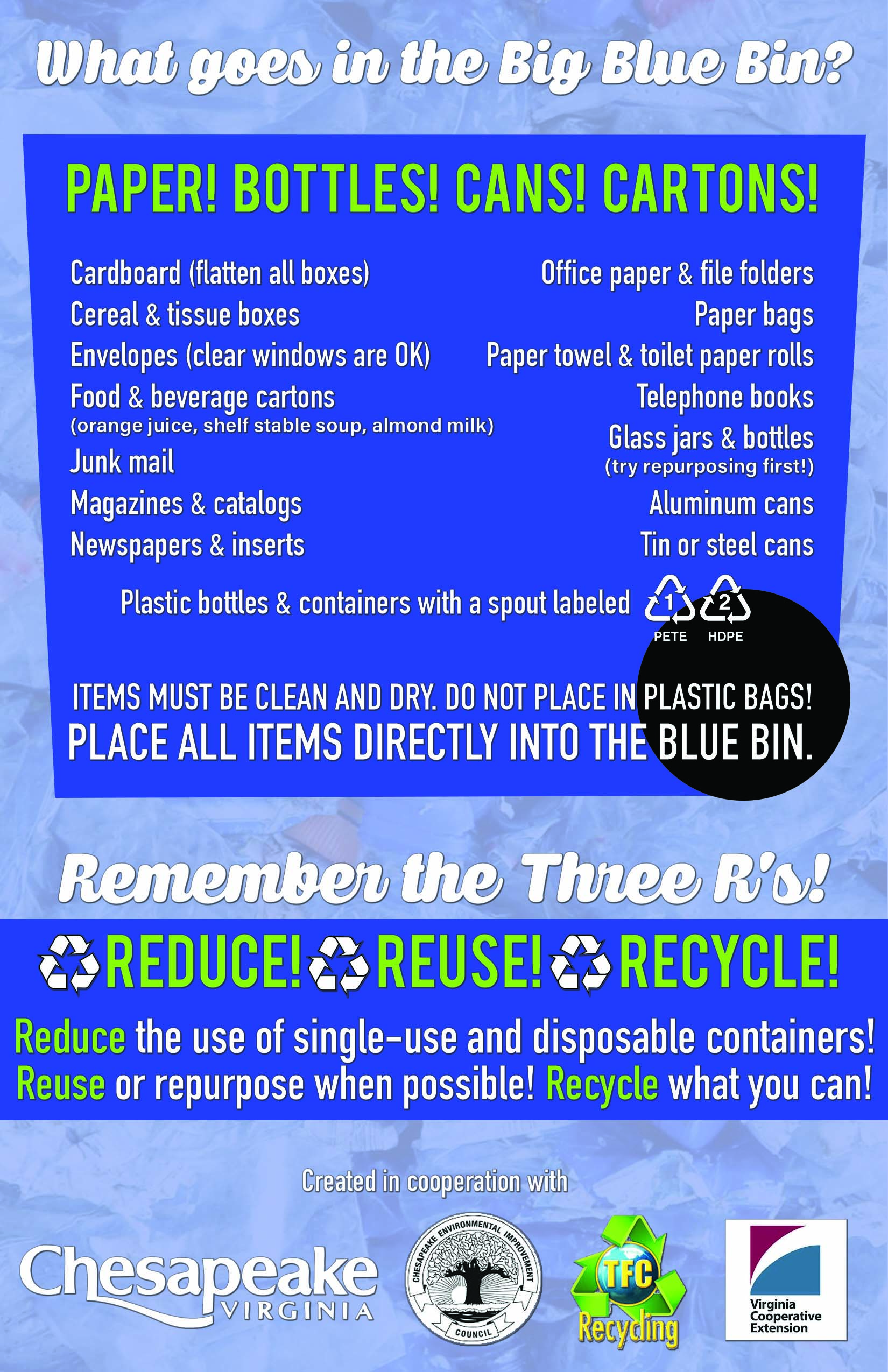 CEIC Recycling Flyer Side 1a
